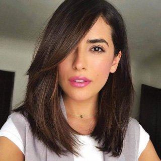 Brunette Lob- Perfect haircut Lengths 2020