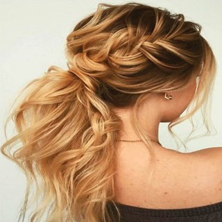 Loose Braid long hair- Perfect haircut Lengths 2020