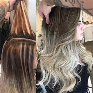 Beautiful Balayage with Shadow Root